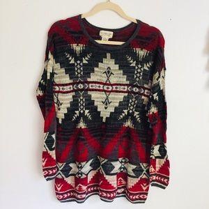 Ralph Lauren Southwestern Chunky Sweater